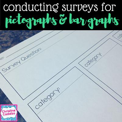 Pictograph & Bar Graph Surveys