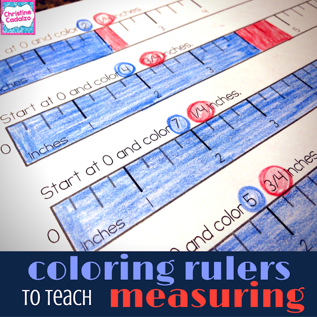 Measuring with a Ruler: Try Coloring!