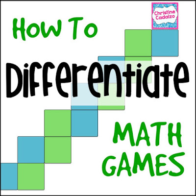 How to Differentiate Math Games