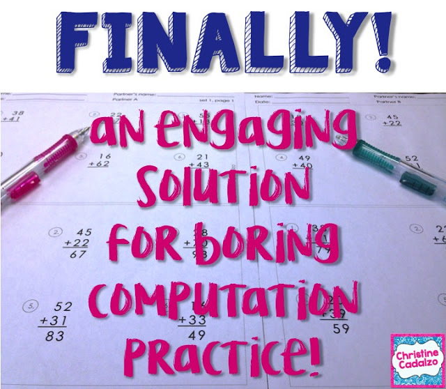 Engaging Computation Practice- Really!
