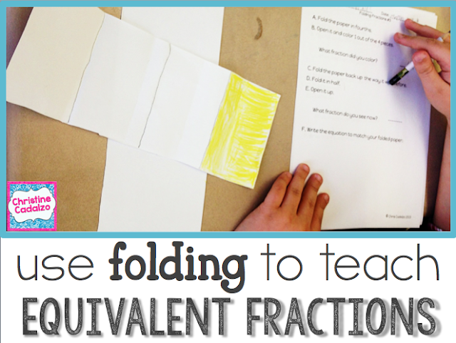 Using Folding to Teach Equivalent Fractions