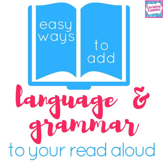 Adding Language Skills to your Read Aloud