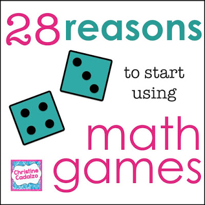 28 Reasons to Use Math Games
