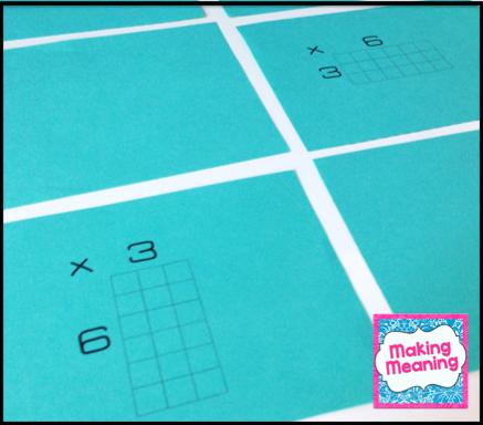 Teach Multiplication Facts with Array Cards