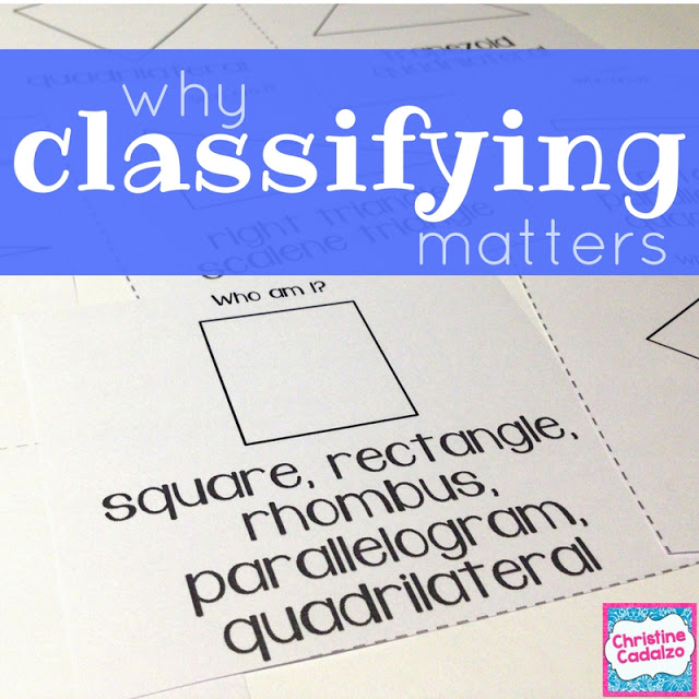 Why we Need to Classify Quadrilaterals